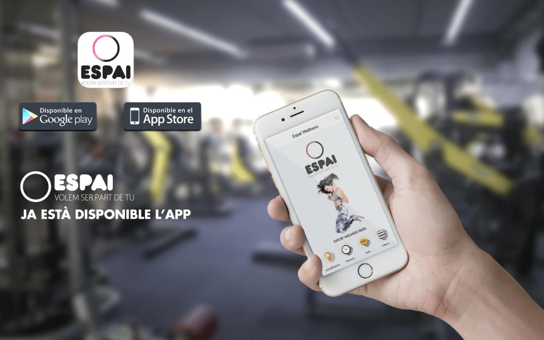 Descarrega't l'App Espai Wellness
