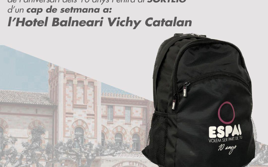 Sorteig cap de setmana Balneari Vichy Catalan
