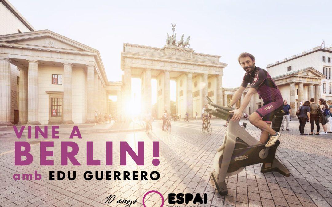 Vine a Berlín amb l'Espai!