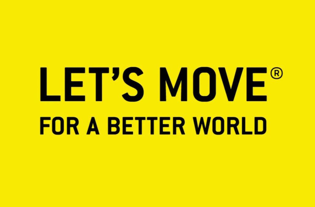 Com apuntar-te al repte solidari LET'S MOVE for a better world?