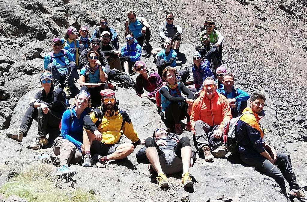 (VÍDEO) Les imatges de l'ascens al Toubkal