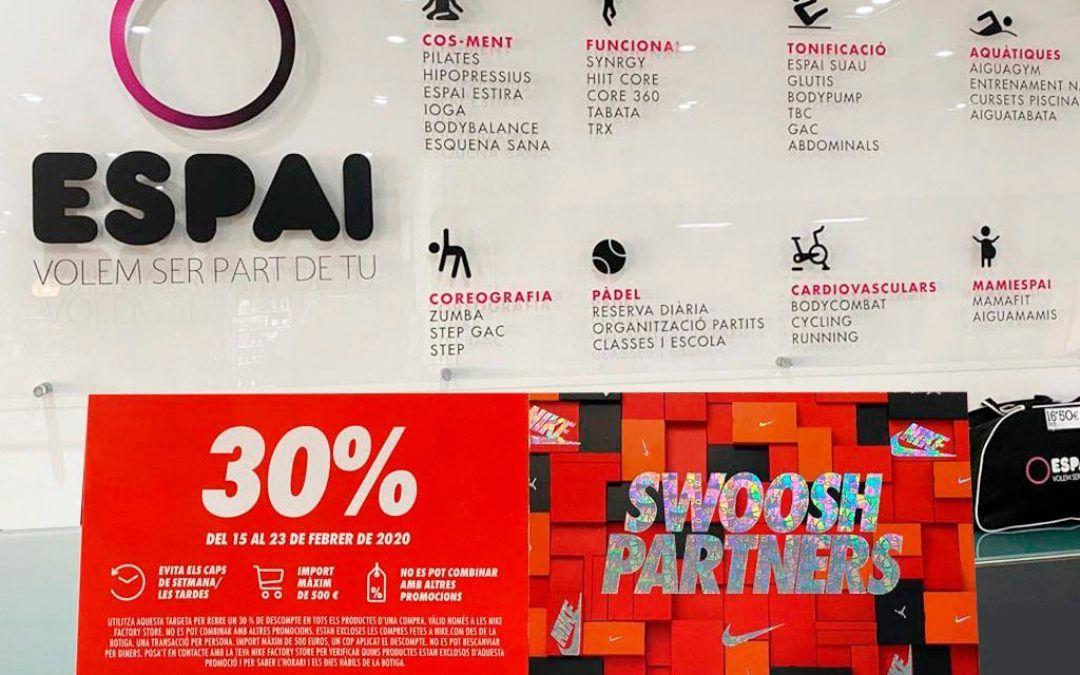 Gaudeix la col·laboració Espai – Nike Factory Store