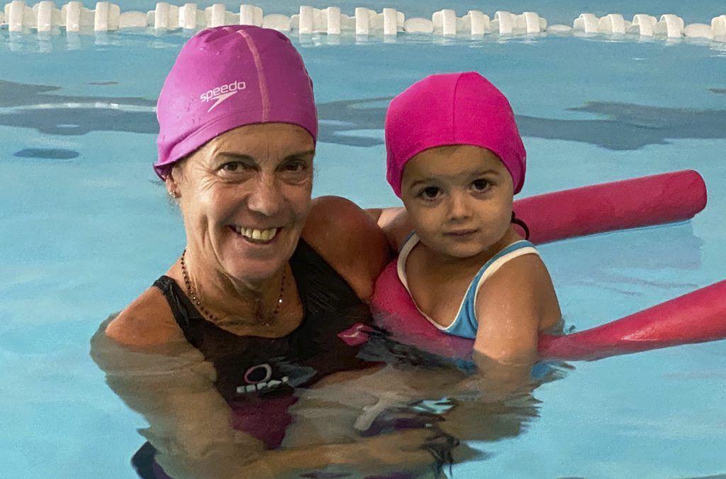 Cursets de natació pels més petits de casa