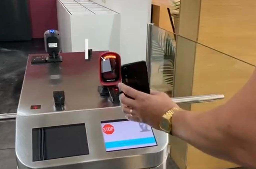Nou sistema d'accés al Centre amb CODI QR