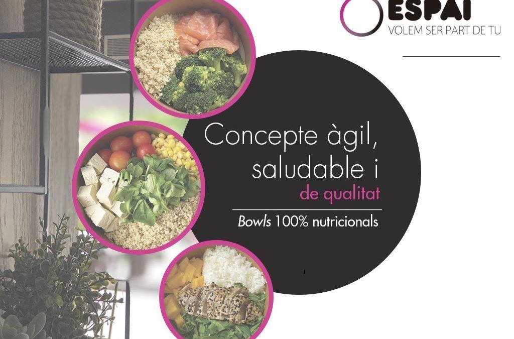 Prova els nous bowls saludables