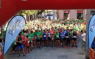 L'Espai, punt d'inscripció de la 2a edició de la cursa AECC Vallès Oriental en Marxa